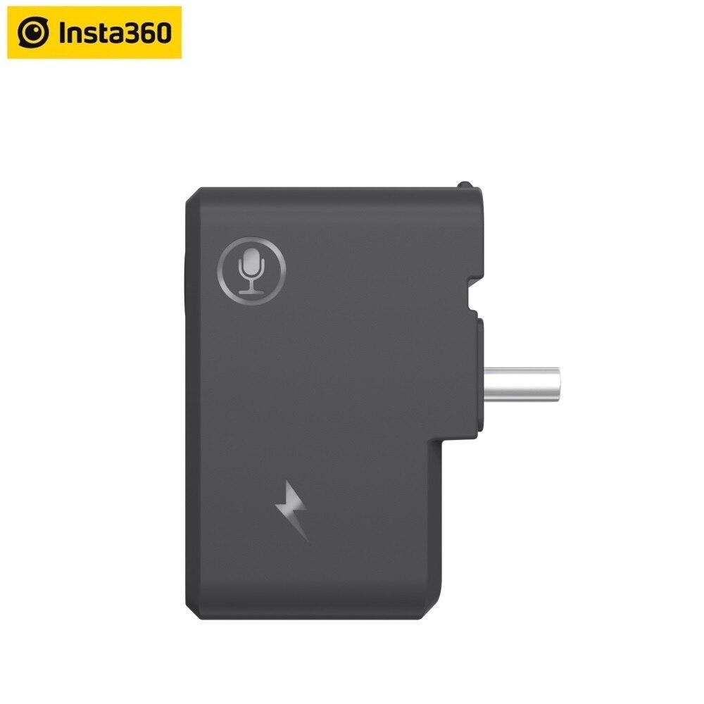 Микрофонный адаптер Insta360 ONE X2 для Insta360 ONE X 2 оригинальный аксессуар