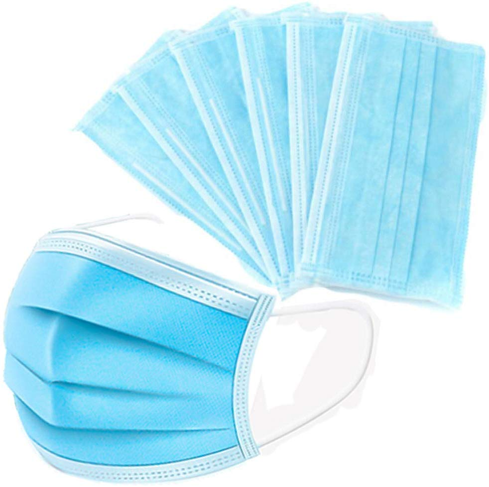 In Voorraad! Hot Koop 20/50/100Pcs Disposable Anti-dust Safe And Breathable Face Mask Dust Ear Loop Face Mouth Masks Respirator