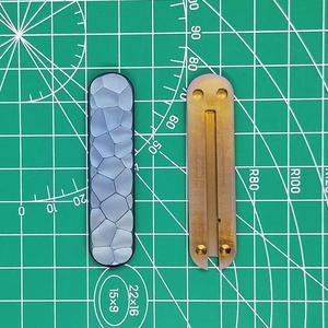 Титановый сплав TC4 весы Ручка с шариковой ручкой слот для 58 мм перочинный нож перочинного типа Swiss Army Signature Midnite Manager