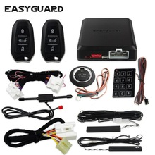 EASYGUARD keyless start stop kit fit für peugeot pke passive keyless entry remote engine start push zu starten passwort eintrag