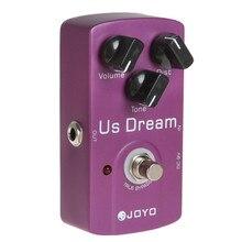 цена на JOYO JF-34 Aluminum Alloy American Guitar Distortion Effect Pedal Bypass Guitar Sound Effect Effect Pedal Guitar Accessories