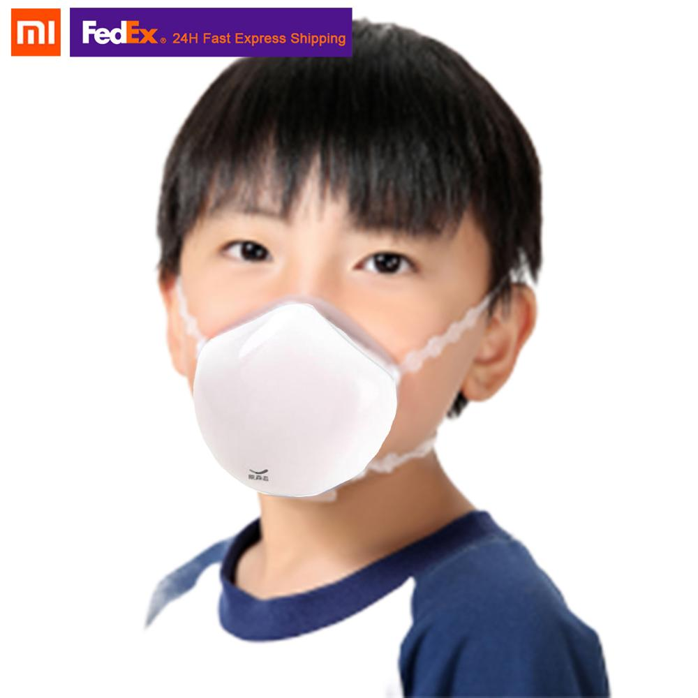 2020 NEW Stock Xiaomi Mijia Q8S Electric Face  Cover Anti-haze Provides Active Air Supply Filter Dustproof For Kid