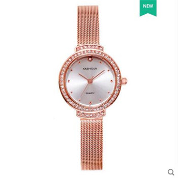 New Fashion popular style Women Watch Luxury Brand Quartz Watches Casual Stainless Steel Wristwatches