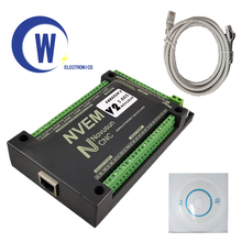 MACH3 Nvemv2.1 CNC Motion Controller 3 axis / 4 axis / 5 axis / 6 axis Ethernet  Slave funct for Stepper,Servo motor