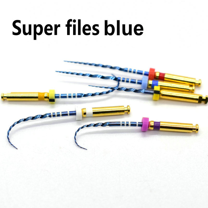 Dental arquivos rotary arquivos super azul rotary limas endodônticas niti arquivos ativação de calor para Uso do canal radicular