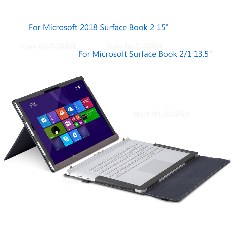 Stand Protective Cover For Microsoft 2018 Surface Book 2 15