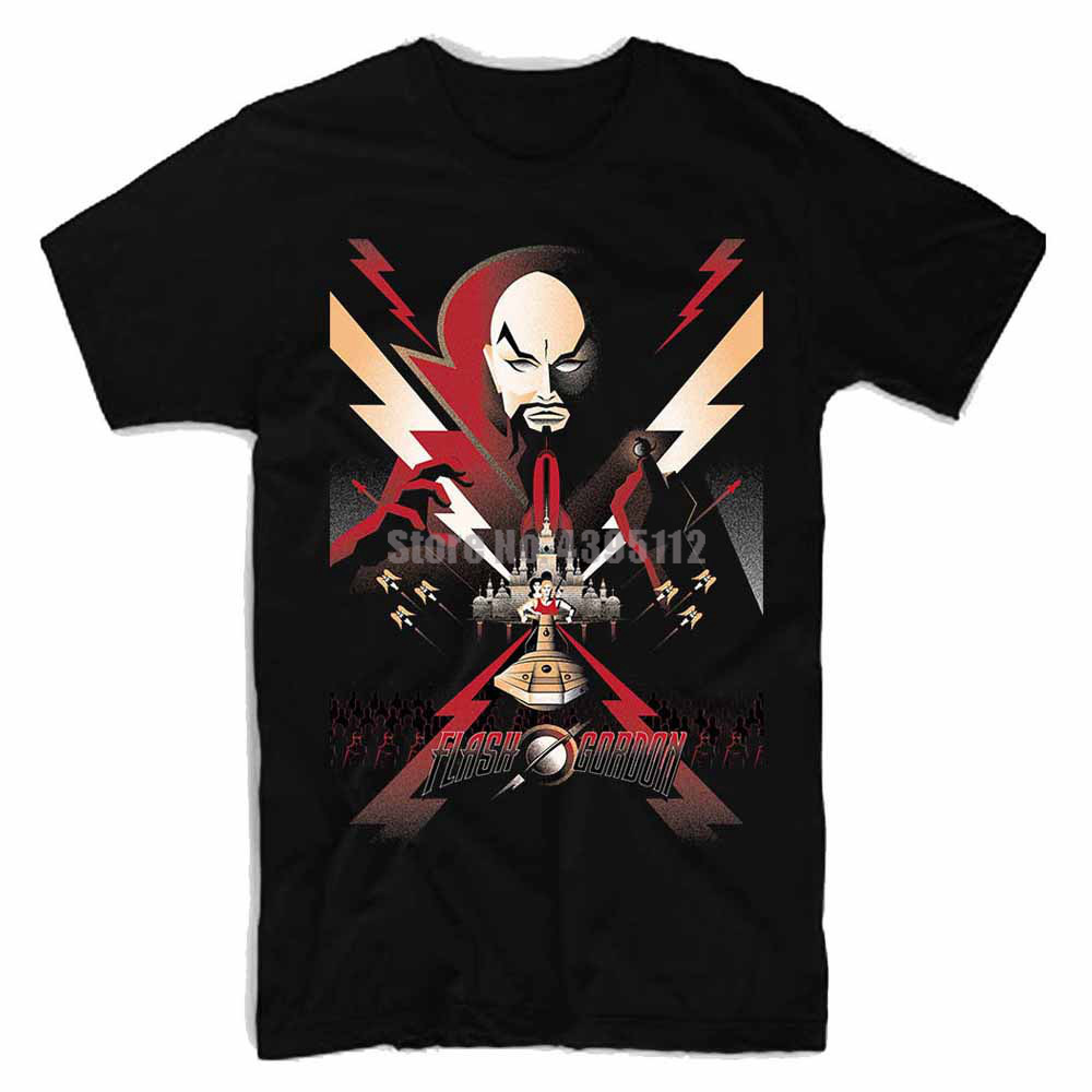 Flash Gordon Movie Man Sweatshirt T Shirts Wear Tshirt White T-Shirt Black Tshirts For Fitness Bmbsqi(China)