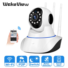WakeView 1080P WiFi Camera Home Security HD Pan Tilt Wireless IP Camera Two Way Audio Baby Monitor CCTV IP Camera SD Card P2P 1080p hd ip camera wifi home security camera pan tilt cctv camera ir two way audio video baby monitor support sd card storage