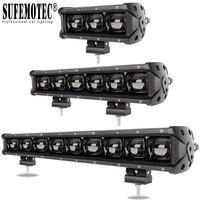 6D lentille barre de lumière LED pour 4x4 hors route 4WD ATV UAZ camion tracteurs remorque moto 12V 24V conduite feux de travail Barra Offroad