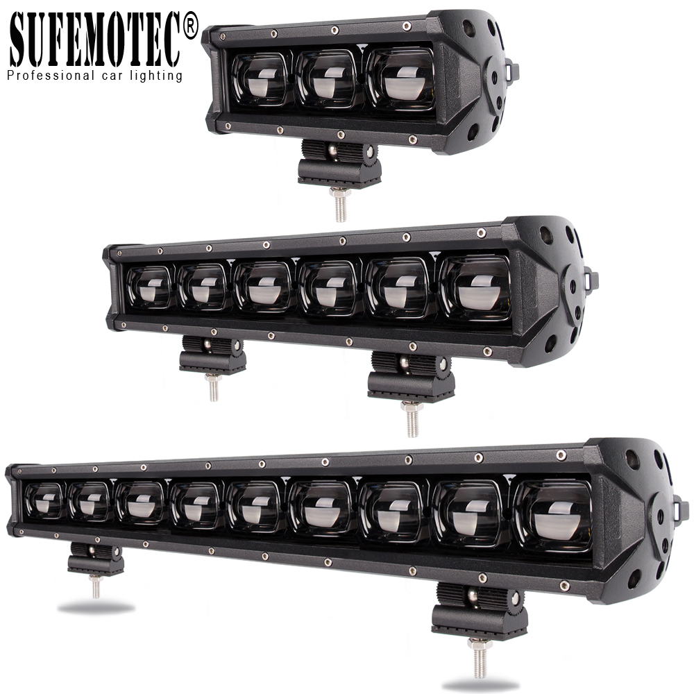 6D Lens Led Light Bar For 4x4 Off road 4WD ATV UAZ Truck Tractors Trailer Motorcycle 12V 24V Driving Work Lights Barra Offroad|Light Bar/Work Light| |  - title=