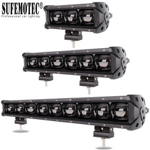 6D Lens Led Light Bar For 4x4 Off road 4WD ATV UAZ Truck Tractors Trailer Motorcycle 12V 24V Driving Work Lights Barra Offroad