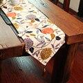 Withme Tisch Läufer Modernen Track auf die Tabelle Decor Blume Einstellung Runner Quaste Stoff Baumwolle Tischdecken für Haus und Küche-in Tischläufer aus Heim und Garten bei
