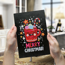 Diy Diamond Painting Christmas Creative Handmade DIY Notebook Shaped Bright A564 Page Notepad