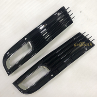 Front Left/Right Side Fog Light Lower Bumper Grille grill for Audi A8 D3 2007 2008 2009 2010 Facelift Car Racing Grills