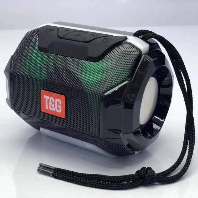 Przenośny głośnik Bluetooth LED minigłośnik bezprzewodowy na Bluetooth Stereo Super subwoofer zewnętrzny bas muzyczny bas AUX TF FM