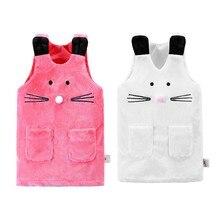 Осенне-зимний Повседневный жилет для маленьких девочек; куртка; Верхняя одежда для детей; пальто для девочек; жилет для малышей; детская теплая куртка без рукавов