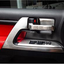 Para Toyota Land Cruiser 200 LC200 2008, 2009, 2010, 2011, 2012, 2013, 2014, 2015, 2016, 2017, 2018, 2019 de acero inoxidable accesorios de acero