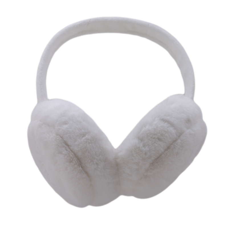 Brand New 2020 Fashion Women Girl Fur Winter Ear Warmer Earmuffs Ear Muffs Earlap Solid Earmuffs Headband Newest