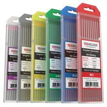 Welding-Rod Tungsten-Electrode 10pcs/Set 175mm/7-1/16-3/32-