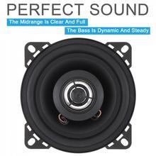 1pcs 4 Inch 10mm 12V 50W 2-Way Car HiFi Coaxial Speaker Vehi