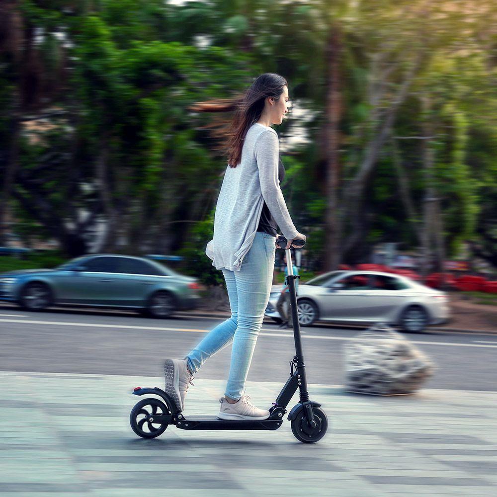 [Pologne stock] pas de taxe KUGOO S1 350W Scooter électrique adulte pliant vitesse Scooter électrique 3 Modes de vitesse 8 pouces IP54 30KM 3-6 jours - 6