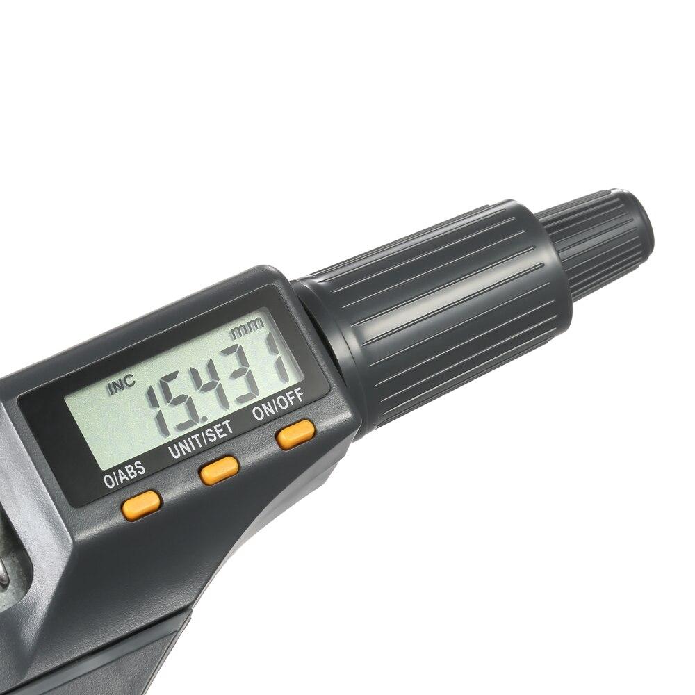 Digital Fora Micrômetro Micrômetro de Profundidade Micro Pinça