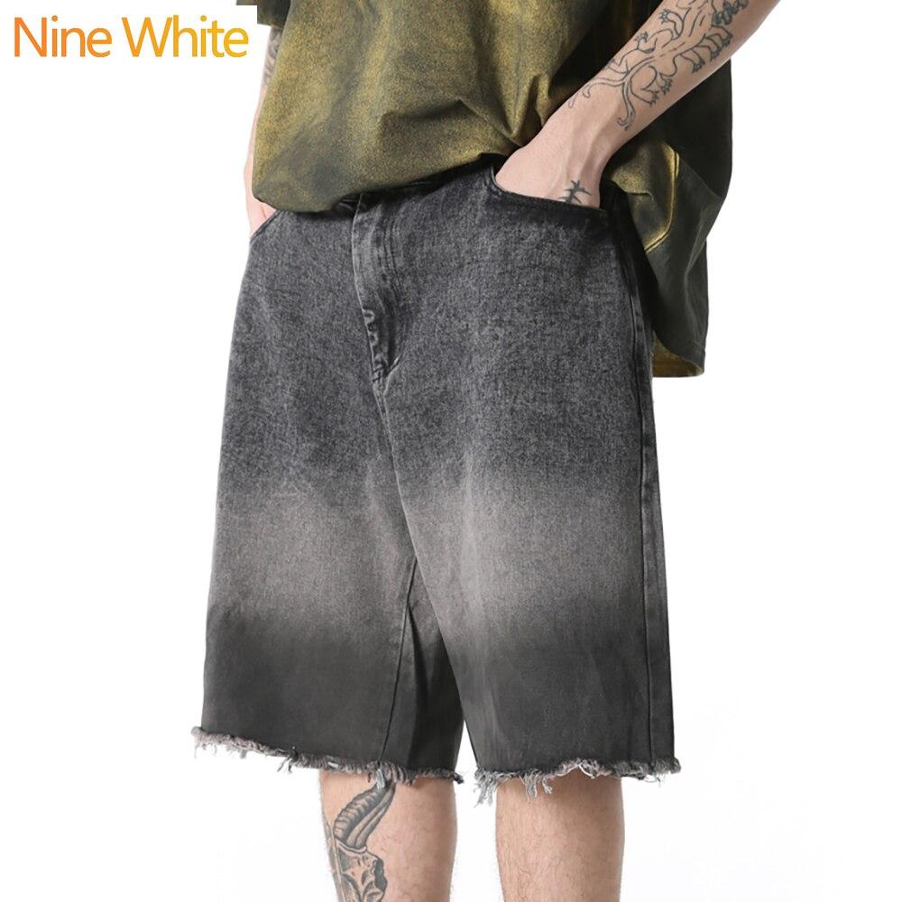 2020 Summer Hip Hop Shorts Jogger Harajuku Shorts Street Wear Multicolor Printed Elastic Waist Sports Shorts Loose Cotton