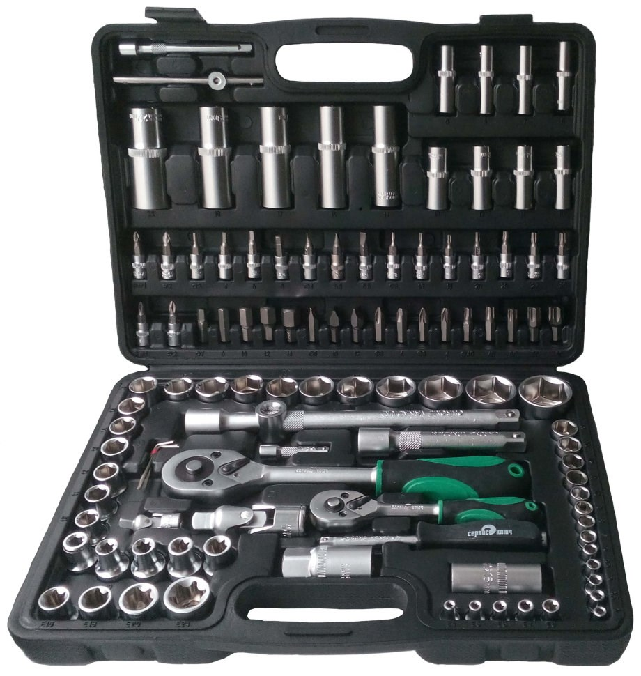 Tool set 108 items SERVICE SLEUTEL 71108