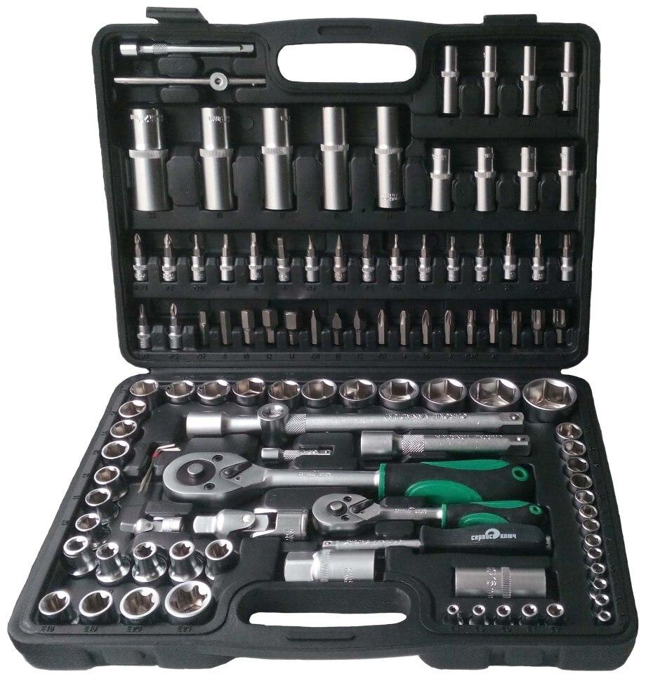 Zestaw narzędzi 108 elementów klucz serwisowy 71108