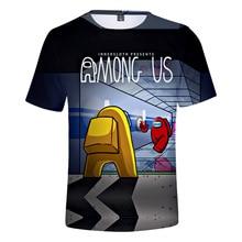 Among Us T-shirt Short Sleeve Cartoon T-shirt For Kids Boys 3D Printed Tops  Impostor Graphic Hip Hop Unisex Clothing amoung us