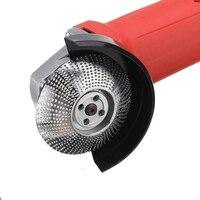 Carpintaria moagem roda ângulo moedor disco carboneto de tungstênio lixar disco ferramenta de escultura em madeira polimento abrasivo ferramenta rotativa|Esmeril| |  -