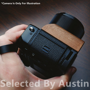 Image 5 - الخشب الخشب قبضة اليد قوس الإفراج السريع ل لوحة ل فوجي Xpro3 فوجي فيلم X PRO3