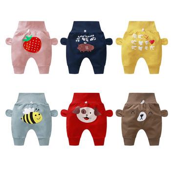 Nadruk kreskówkowy noworodek ubrania bawełniane spodnie haremowe spodnie z wysokim stanem dziecięce spodnie chłopięce chłopcy dziewczęta PP spodnie maluch spodnie dla niemowląt tanie i dobre opinie Kids Tales CN (pochodzenie) Unisex W wieku 0-6m 7-12m 13-24m Cartoon Luźne COTTON Na co dzień Pasuje prawda na wymiar weź swój normalny rozmiar