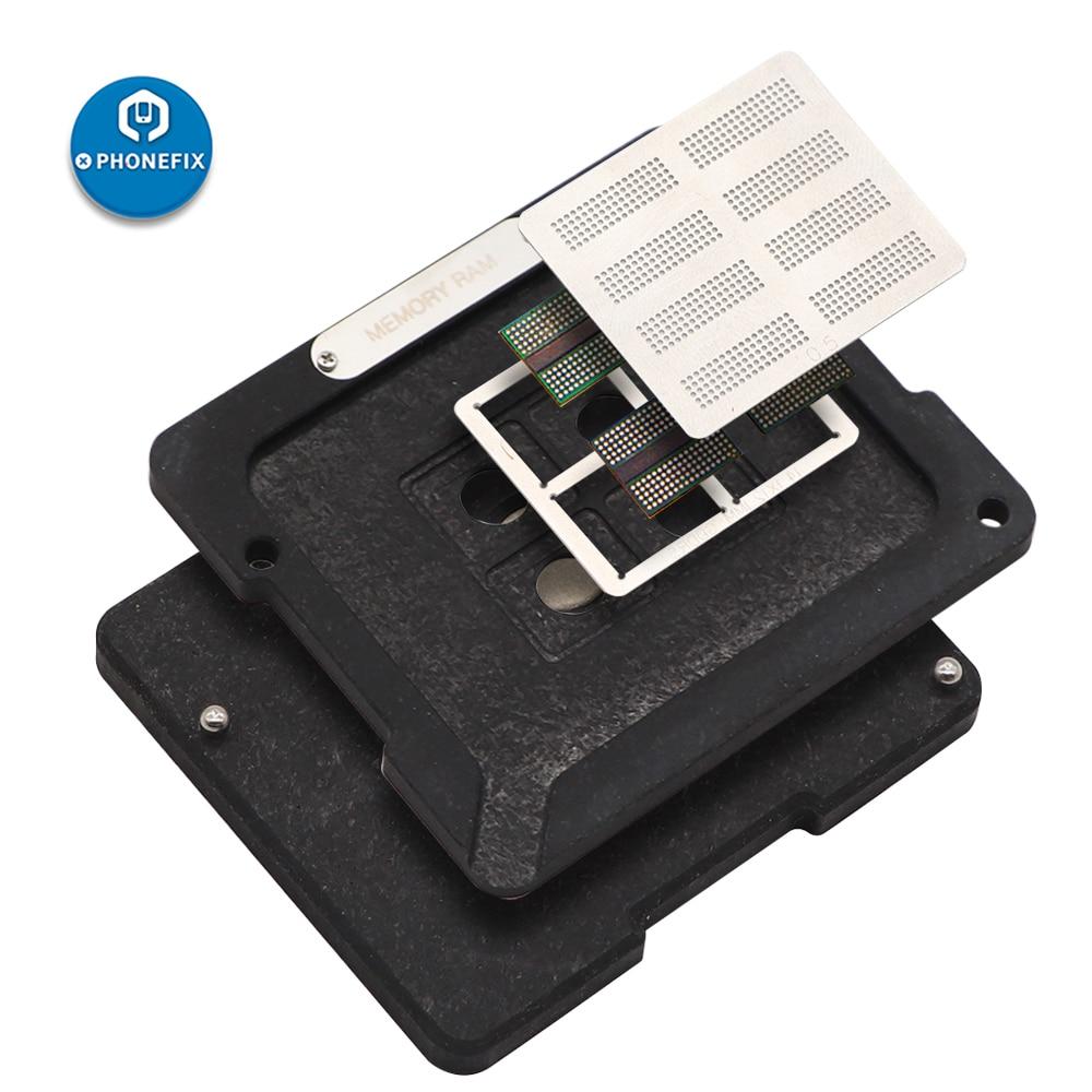 Tools : DS-908 Soldering Tool Kit for BGA Chips of Macbook Air  Pro BGA Reballing Platform Set for Macbook 2010-2018 Soldering Repair