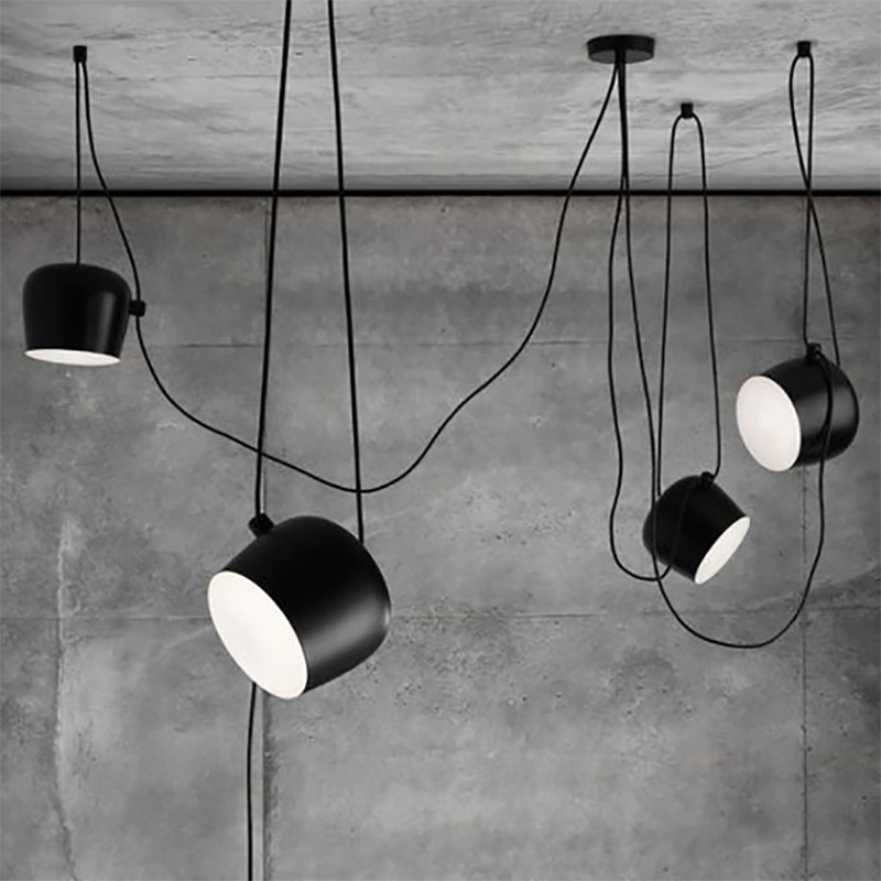 1 peça aim luz de teto moderna