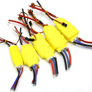 Image 2 - 1pcs 2 6S 30A/50A/80A/100A/200A ESC 5V/3A 5V/5A UBEC Brushless Speed Controller ESC For RC Boat UBEC 200A/S