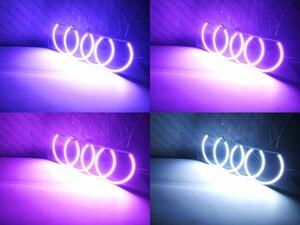 Image 5 - RF a distanza Bluetooth APP Multi Color Ultra luminosa RGB LED Fari Alogeni Di Profondità kit per Toyota Chaser JZX100 1996 1997 1998 1999 2000 2001