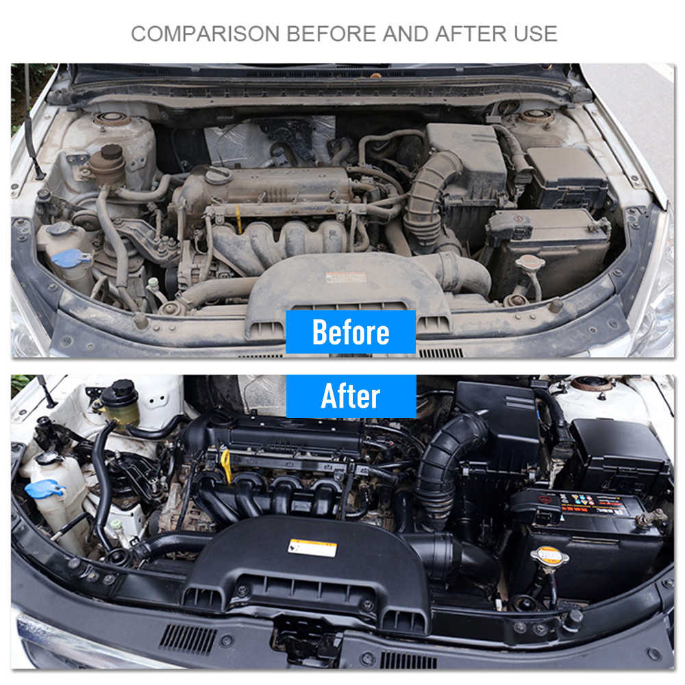 20ML Engine Compartment Cleaner Removes Heavy Oil Car Window Cleaner Cleaning Maintenance Car Accessories