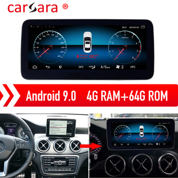 Merce des A CLA GLA Class 13-18 W176 Android 9.0 Navigation Aftermarket Multimedia DVD Player image