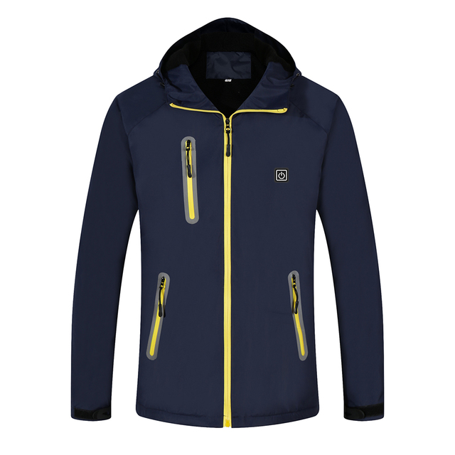 2019 Winter Heated Jacket Men Women Outdoor Sport Polar Coats Fleece Jacket Ski ingTrekking Camping Hiking Clothing 2