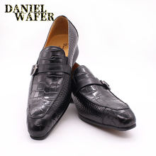 Роскошные Лоферы ручной работы; Мужская деловая обувь; Повседневная