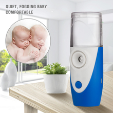 New medical handheld ultrasonic atomizer, mute home mesh inhaler for children and adults with asthma atomizer for children