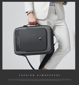 Image 5 - 40l 대용량 mens 확장 가능한 배낭 usb 충전 남성 17 인치 노트북 가방 방수 비즈니스 여행 mochila 남자