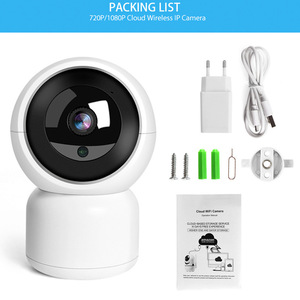 Image 5 - SmartCnet  Tuya Smart Life 720P 1080P IP Camera 1M 2M Wireless WiFi Camera Security Surveillance CCTV Camera Baby Moniter