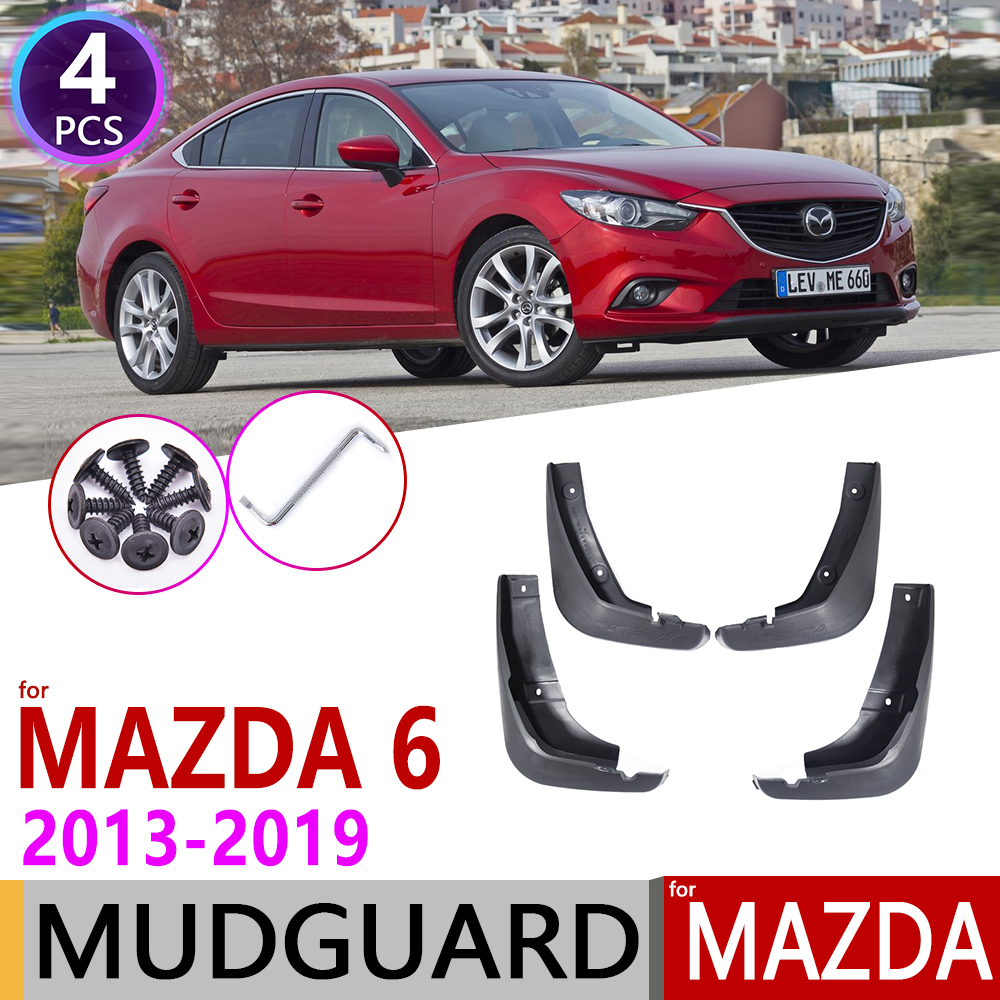 for Mazda 6 Atenza GL GJ 2013 2019 Car Mudflap Fender Mud Flaps Guard Splash Flap Mudguard Accessories 2014 2015 2016 2017 2018