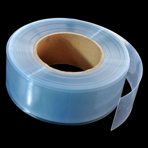 2M Transparent PVC Heat Shrink Tube Shrinkable Film RC Parts For Lipo Battery 35mm 50mm 60mm 70mm 80mm 90mm 130mm Insulation(China)