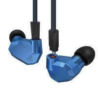 KZ ZS5 2DD + 2BA היברידי באוזן אוזניות HIFI DJ צג ריצה ספורט Earplug אוזניות רעש ביטול Earbud אוזניות עם מיקרופון|אוזניות ודיבוריות לטלפון|   -