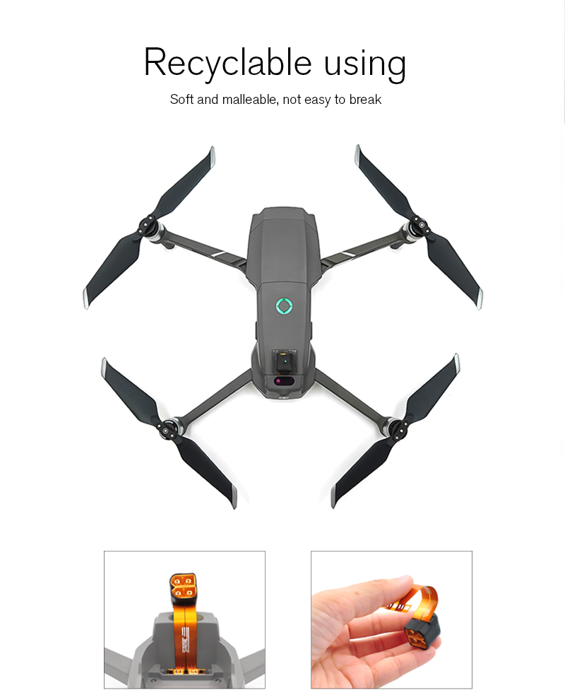 Mavic 2 Battery Adapter battery Power Out Connector Expansion Accessories For DJI Mavic 2 Pro / Zoom Drone Increase flight time