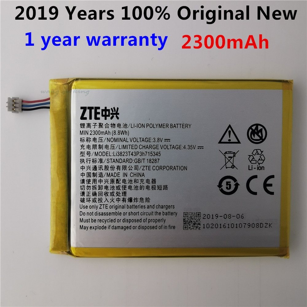 3.8V 2300mAh LI3823T43P3h715345 For ZTE Grand S Flex / For ZTE MF910 MF910S MF910L MF920 MF920S Battery