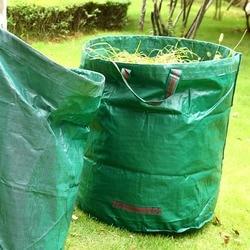 Worki na śmieci ogrodowe  72 galony wielokrotnego użytku worek na liście stoczni  trwałe i przenośne torby do przechowywania ogrodu z podwójnymi uchwytami  4 sztuki w Worki na śmieci od Dom i ogród na